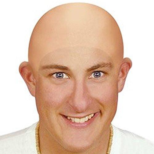 Bald Head (caoutchouc) - Thin Skull Cap [Jouet]