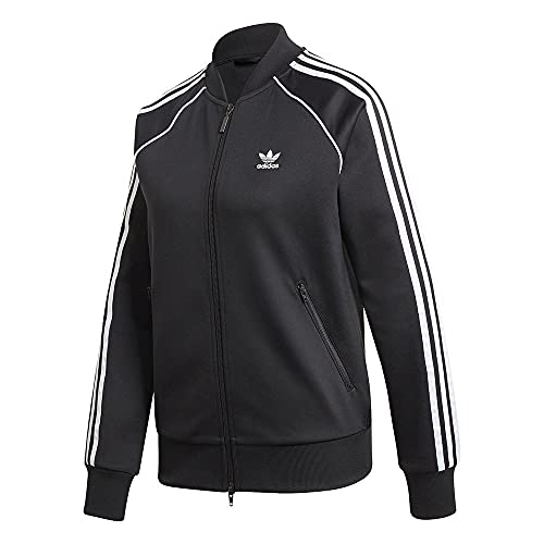 adidas Damen Jacke Primeblue SST Originals, Black/White, 38, GD2374