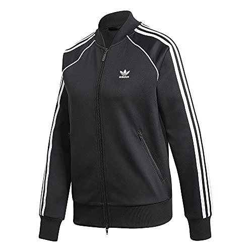 adidas SST TRACKTOP PB, Felpa Donna, Multicolore (Black/White), L