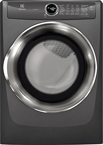 Electrolux EFMG527UTT 27 Inch Gas Dryer with 8 cu. ft. Capacity, in Titanium