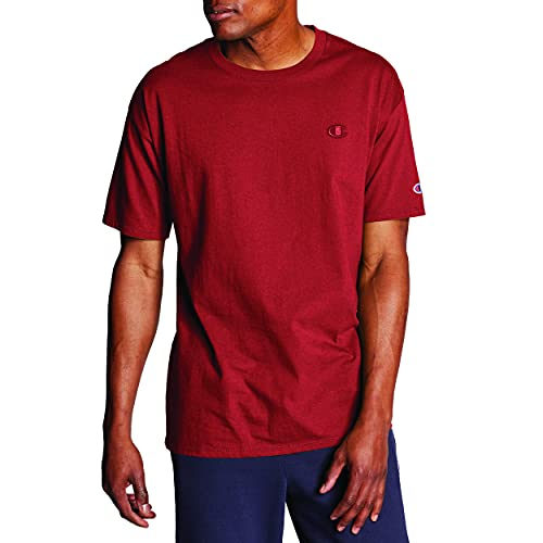 Champion Herren Classic Jersey T-Shirt Hemd, scharlachrot, XX-Large