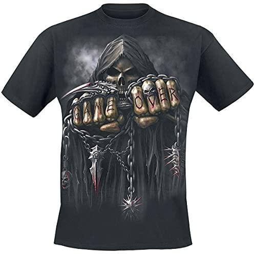 Spiral Game Over Camiseta Negro S