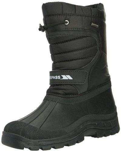 Trespass Dodo, Unisex-Kinder Chelsea Boots, Schwarz (Black), 41