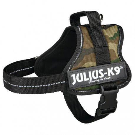 Julius Geschirr K9Klettsticker Power Mini/M: 51? 67cm Camouflage für Hunde