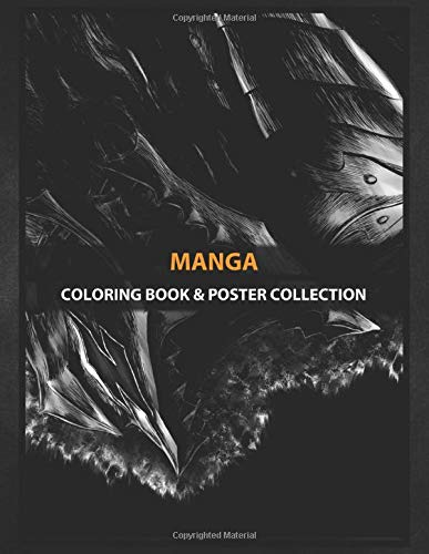 Coloring Book & Poster Collection: Manga Berserk Demon Armor Anime & Manga