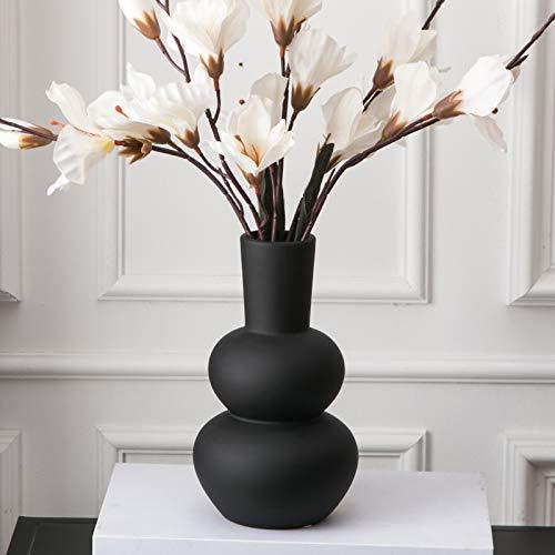 Tenforie Flower Vase Ceramic Vases for Decor, Flower Vase for Home Decor Living Room, Home, Office, Centerpiece,Table and Wedding