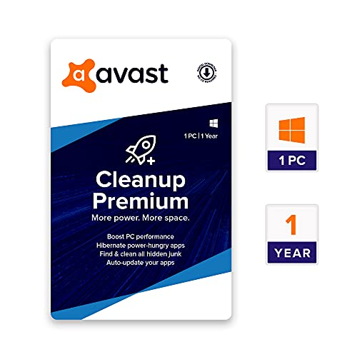 Avast PC Cleanup Premium (1 User, 1 Year) (Email Delivery in 2 hours – No CD)