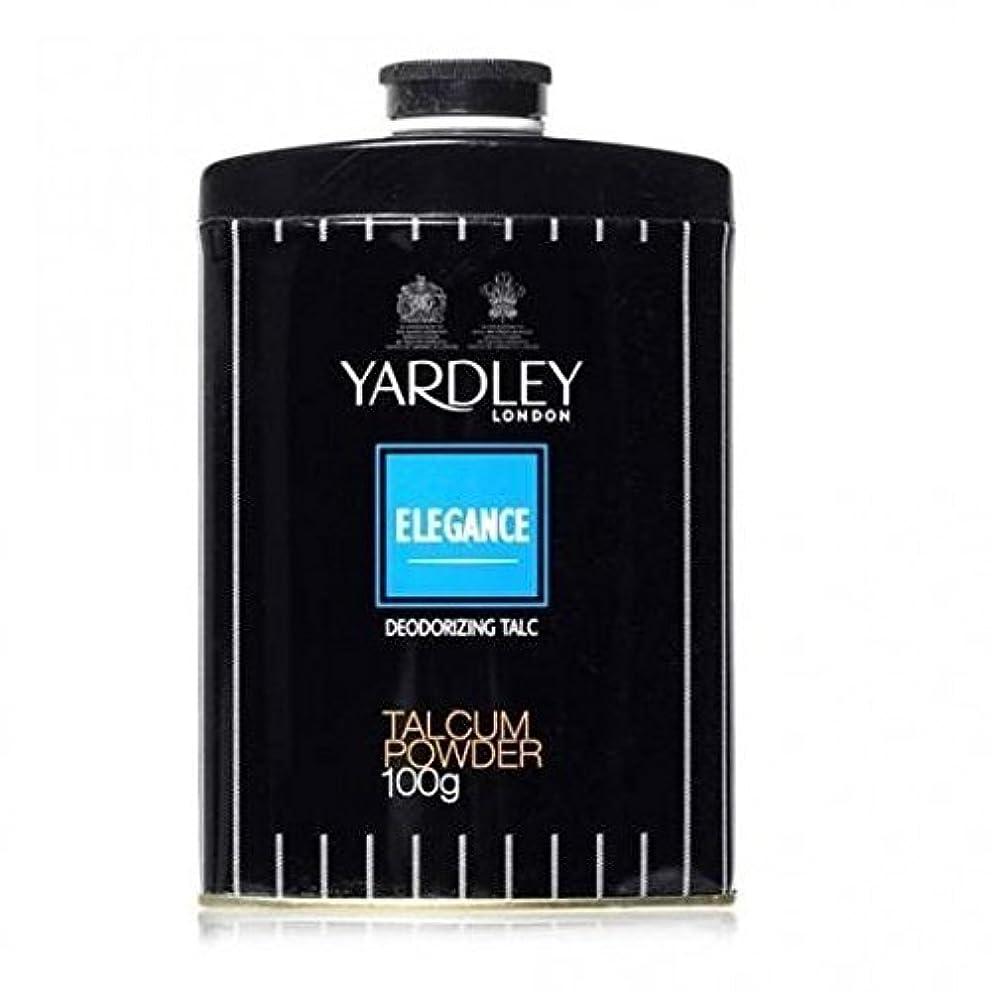 石灰岩ブレンド取り消すYardley Elegance Deodorizing Talc, 250g by Yardley [並行輸入品]