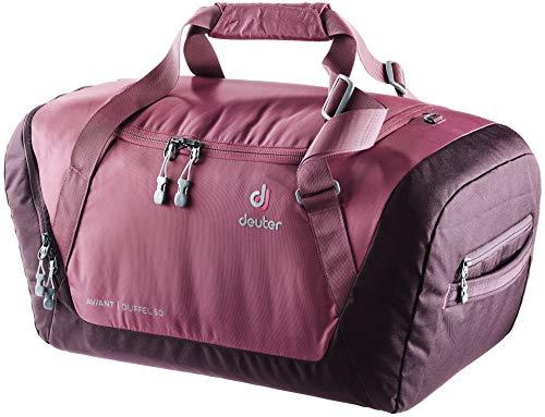 Deuter Aviant Duffel 50 Gym Tote 60 centimeters 50 Purple (Maron-Aubergine)