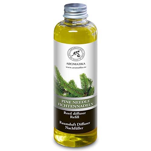 Raumduft KIEFERNNADEL 200ml - mit Fichtenöl - 0% Alkohol - Intensiv & Langanhaltend Natürlicher Raumduft für Boutique - Restaurant - Aromatherapie - Diffuser