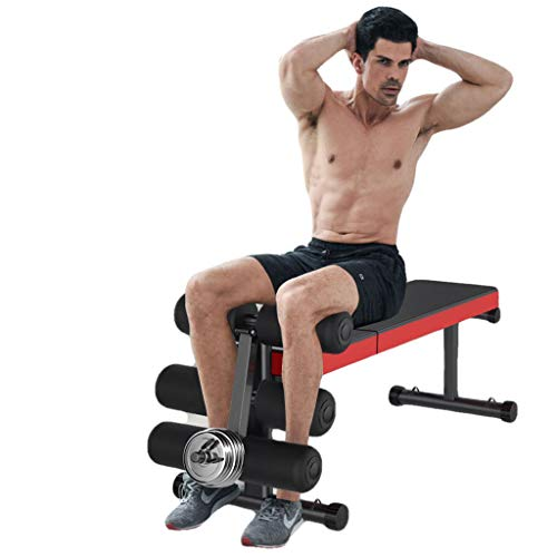 Home Gym Adjustable Weight Bench Foldable Workout Bench Lifting Support, Incline/Decline/Flat Perfect for Bench Press,...