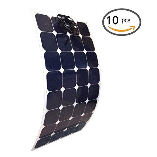 Giosolar Placa Solar Monocristal 1000W (10X100W) Panel solar de alto rendimiento de...