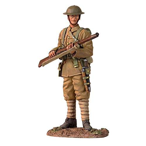 W.Britains World War 1 British 1916-1917 British Infantry Standing Watch Pewter