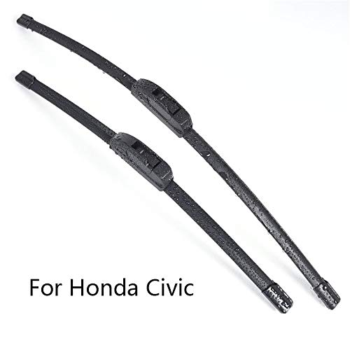 Car Windshield Wiper Blades  ,for Honda Civic Form 2001 2002 2003 2004 2005 2006 2007 2008 to 2016 Car Front Windscreen Wiper Rubber