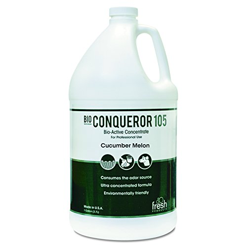 Fresh Products 1BWBCMF Bio-C 105 Odor Counteractant Concentrate, Cucumber Melon, 1 gal, Bottle (Case of 4)