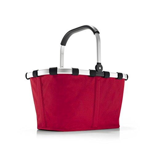Reisenthel Carrybag, Cestino per la Spesa, Borsa, Shopping Bag, Red/Rosso, BK3004