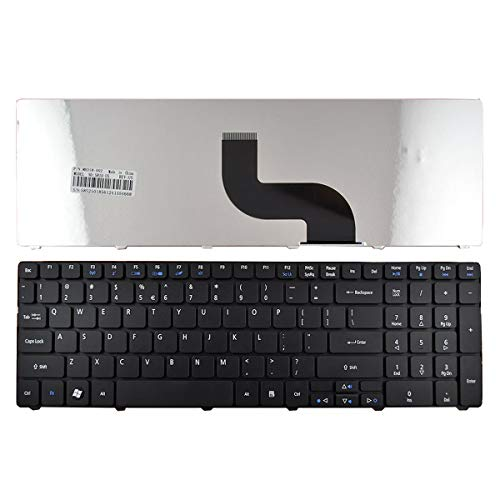 Replacement Keyboard for Acer Aspire 5250 5251 5253 5336 5551 5552 5560 5733 5733z 5736Z 5738Z 5740 5741 5742 5750 5750G 5810 7741 7551 Series Laptop US English Keyboard