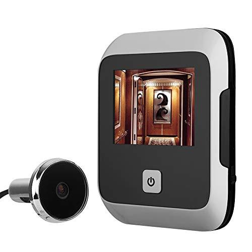 Elektronisch kattenoog, intelligent, bewaking, bel, infrarood, TFT, LCD 3 inch, nachtzicht, groothoek 120 °, geschikt voor gezinnen, vails, hotels.