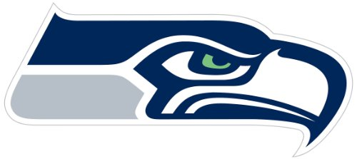 Siskiyou NFL Sports Fan Shop Seattle Seahawks Logo Magnets 8 inch Sheet Team Color