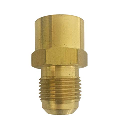 3//8 in Instrumentation x 3//8 in Female Pipe Stainless Steel Brennan 2 Units Instrumentation Straight Adapter