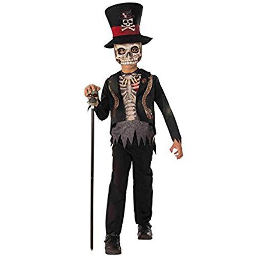 Rubies- Disfraz Voodoo Boy Inf, Multicolor, L (8-10 años) (700468-L) 🔥