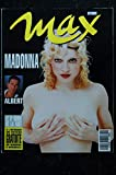 MAX 051 OCTOBRE 1993 COVER MADONNA 7 PAGES ALBERT TABATHA CASH MICKEY ROURKE 1993