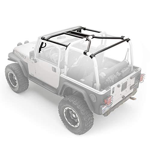 Smittybilt 76900 SRC Cage Kit for Jeep TJ - 7 Piece