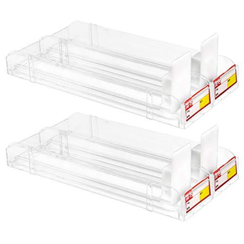 iplusmile Scatola di Fiammiferi Espositore Automatico di Tabacco Espositori per Rack Spintori Portasigarette Divisori per Market Store (Capacità 10 Pezzi)