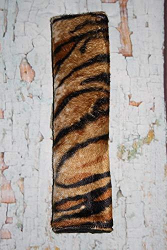 Auto Gurtpolster für Kinder und Erwachsene Kunstfellimitat Tiger