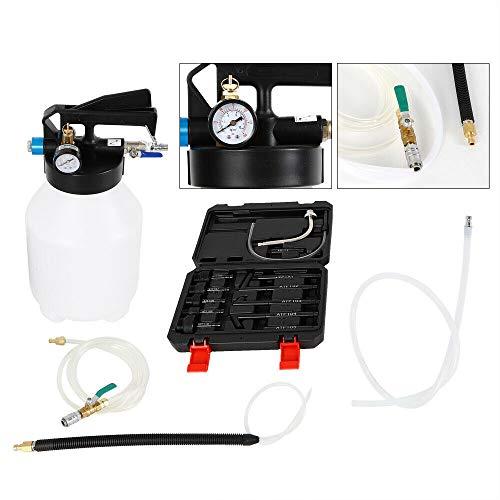 HaroldDol transmissieolie vulapparaat 6L olievulapparaat olie vullen olieverwisselapparaat DSG voor BMW incl. 13 adapters