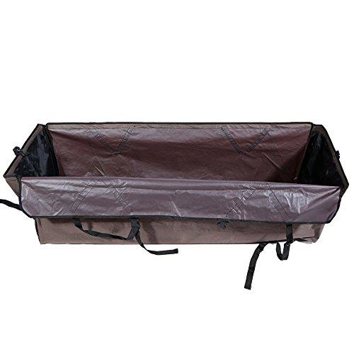 Anself Protector de asientos de coche para mascotas impermeable cubierta de...
