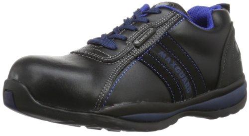 Maxguard LINUS 900210 Unisex-Erwachsene Sicherheitsschuhe, Schwarz (schwarz/blau), EU 42