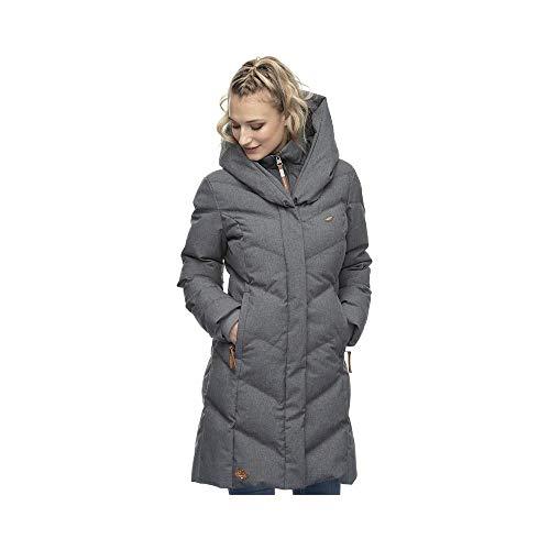 Ragwear W Natalka Grau, Damen Wintermantel, Größe M - Farbe Grey