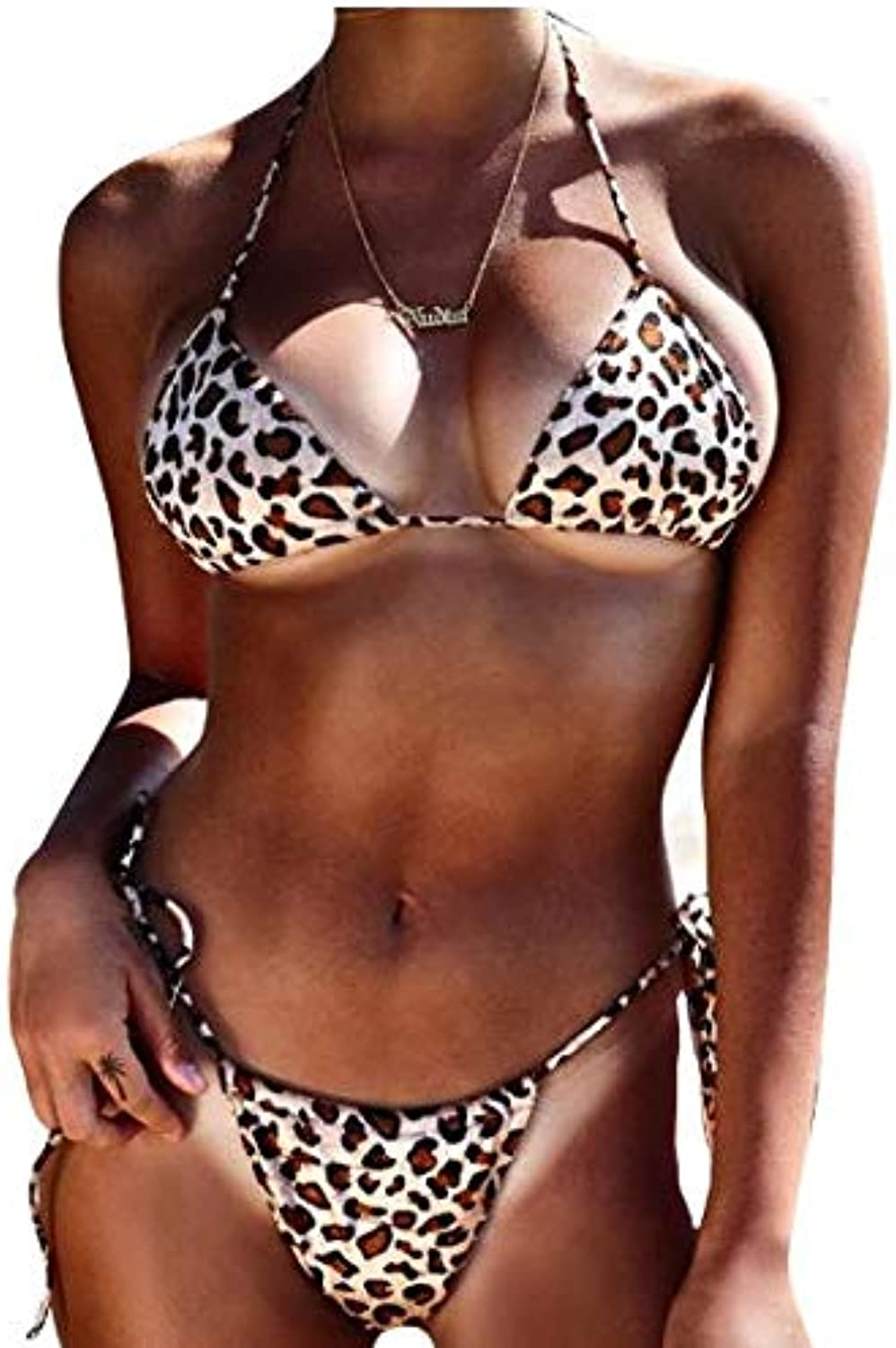 S-5XL Bikini 2019 Large Size lepoard Print Bikini Set Beachwear Swimwear for Women Plus Size Bikini Set zafull 2019 Swimsuit   as picture1, 4XL