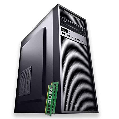 PULSAR PC FISSO FAST SERIES VELOCE DESKTOP COMPUTER | INTEL QUAD CORE | RAM 16 GB DDR4 | SSD 240 GB | DVD MASTERIZZATORE | HDMI | WI FI | FISSO COMPLETO ASSEMBLATO ATX 500W CON MICROSOFT WINDOWS 10