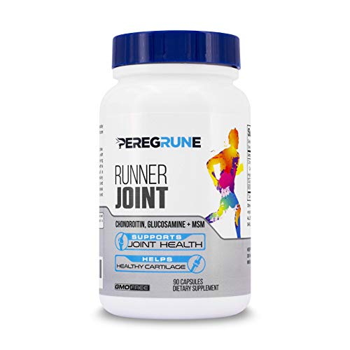 PEREGRUNE Joint Support for Runners | Helps Support Healthy Knees, Cartilage, & Joints | Engineered Supplement for Runners with Glucosamine, Chondroitin, and MSM