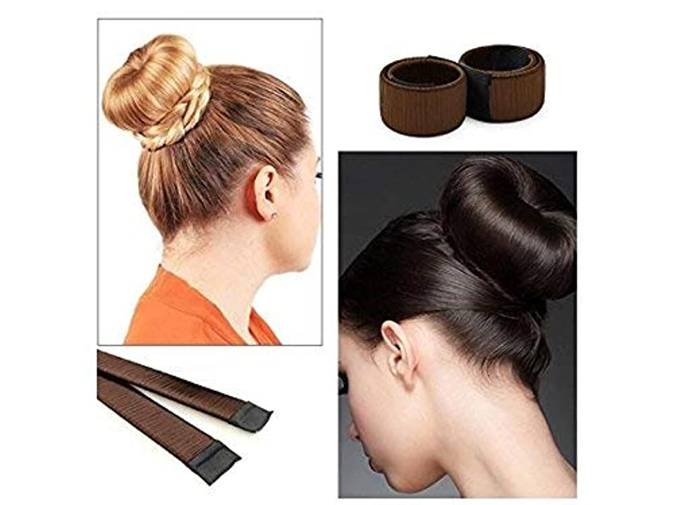 セットするシャイパンダLUOSAI 女性女の子髪フレンチパンメーカークリップ髪DIYクラフトツール3本