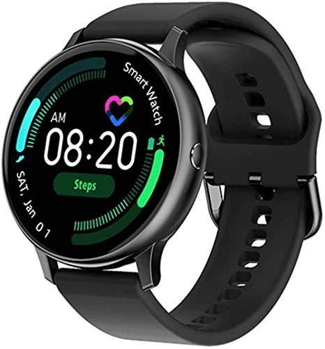 Reloj inteligente para mujer, monitor de ritmo cardíaco, monitor de oxígeno en sangre, rastreador de fitness DT88Pro Smartwatch para iOS Android Phone-B