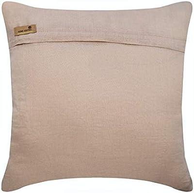 Amazon.com: Funda de almohada Mocha, 3D metálica con ...