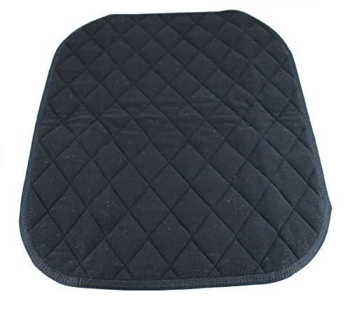 AntiRutsch Sitzauflage Inkontinenz Sitzunterlage Größe 40 x 50 cm von caretex (schwarz)