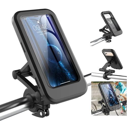 GIMIRO Multifunctional Bicycle Handlebar Phone Holder Waterproof Bag 360 Degree Rotation Bike Mobile Phone Stander Cycling Cellphone Bags