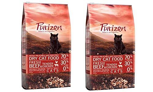 Purizon GroßhandelPL Katzen Trockenfutter Adult Rind & Huhn 2 x 6,5kg