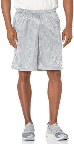 Hanes Men s Sport Mesh Pocket Short Athletic Gray Small product image