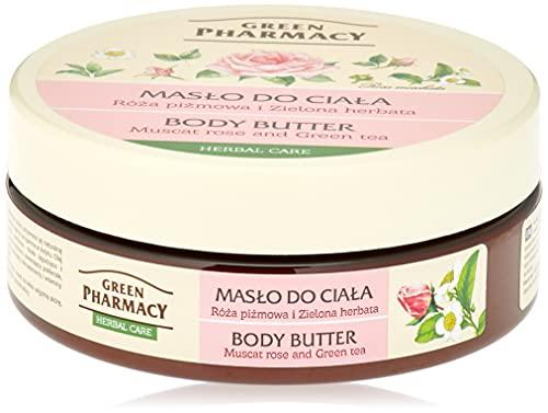 Green Pharmacy Beurre corporel rose et thé vert 200 ml