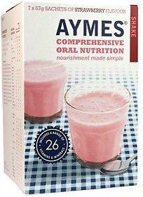 Aymes StrawBerry - Batido de nutrición oral integral