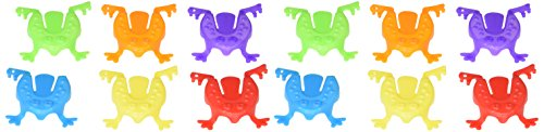 amscan 390344 FunFilled Assorted Colors Mini Jumping Frogs...