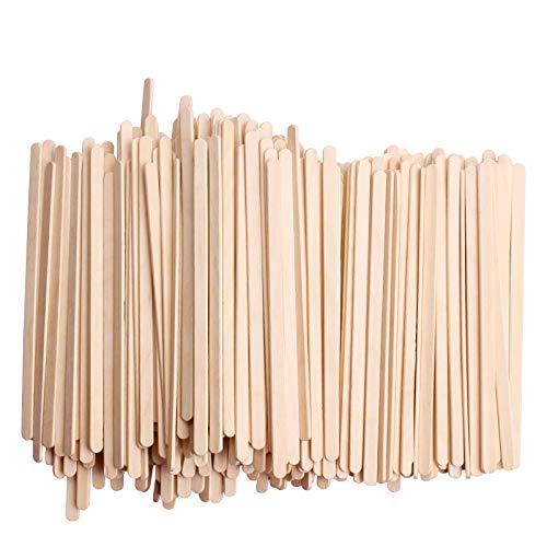 jetables en bois de bouleau Thé café remuer Bâtons agitateurs en bois 14 cm 500 pcs