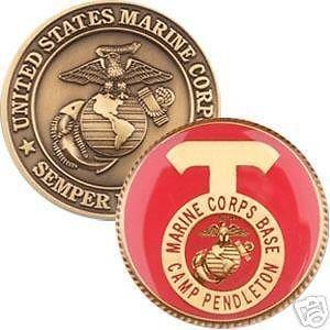 Camp Pendleton Marine Corps Base Coin