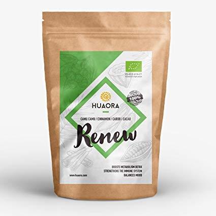 Huaora Renew – detox fegato, ridurre lo stress, riattivare l'organismo, rafforzare il sistema immunitario – senza glutine, soia ne lattosio 150gr
