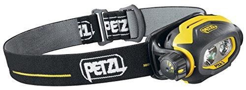 Petzl Erwachsene Stirnlampe Pixa 3, Schwarz/Gelb, One Size